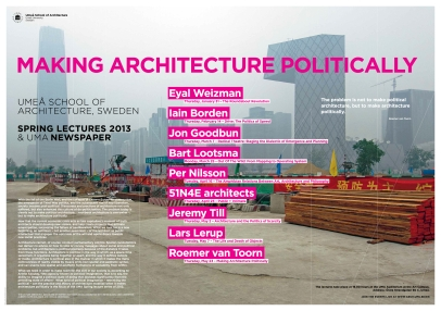 makingarchitecturepolitically